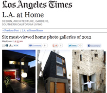 Eel&#8217;s Nest in LA Times &#8216;most viewed&#8217;